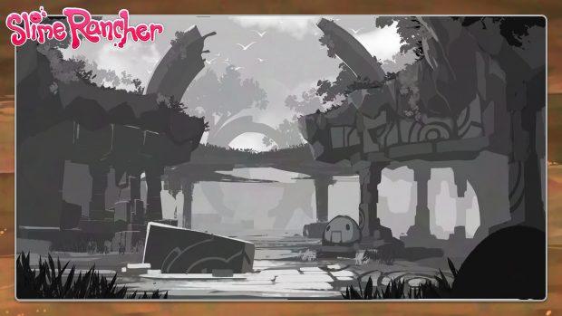 Ruins sketch