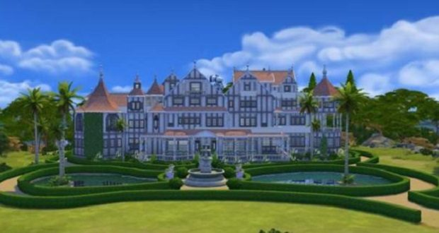 This Sims 4 Mystery House Is Almost Certainly Haunted Rock Paper