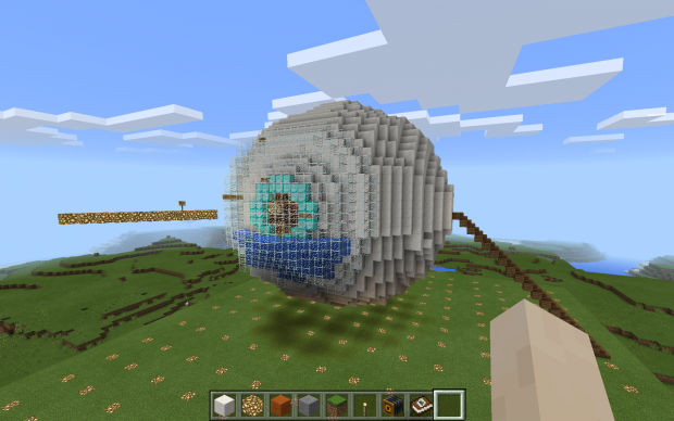 Minecraft-Screenshot-1_Exterior-view-of-the-human-eye
