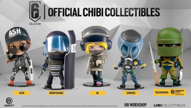 Rainbow Six Chibi Collectibles