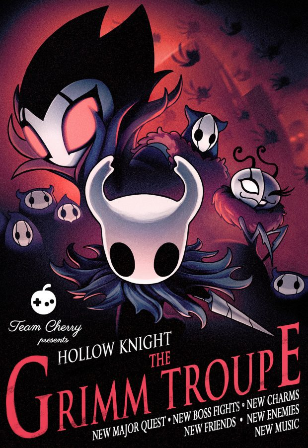 Hollow Knight Grimm Troupe poster