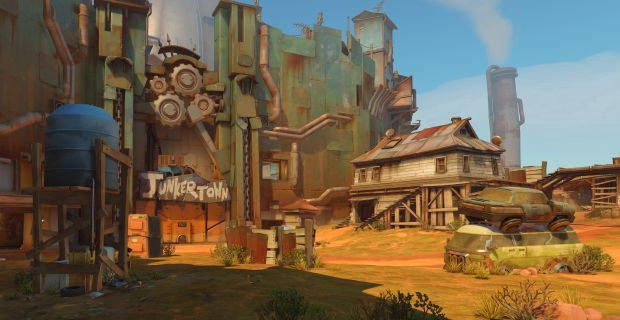 Junkertown, not to be confused with Junckertown, a village in Luxembourg populated entirely by clones of the EU politician Jean-Claude Juncker