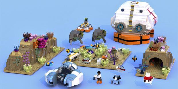 Subnautica Lego idea