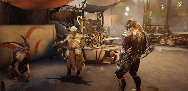 Warframe shows off expansion's open-world action