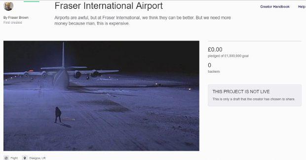airport kickstarter