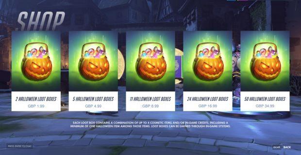 Spooky loot