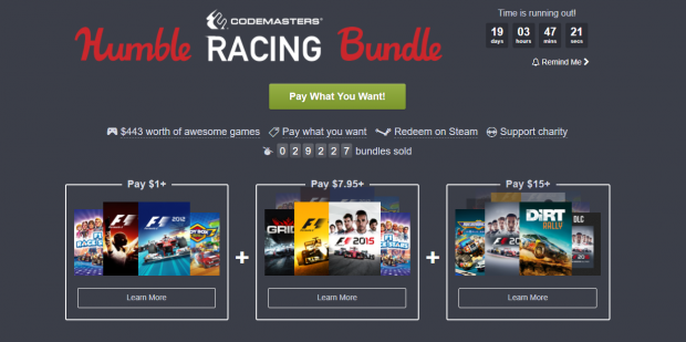 Humble Racing Codemasters