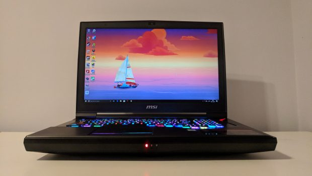 MSI GT75VR front