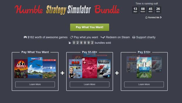 humble strategy simulator bundle