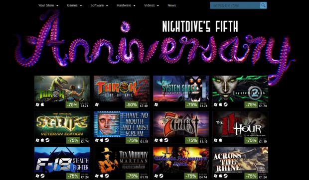 nightdive 5th anniversary