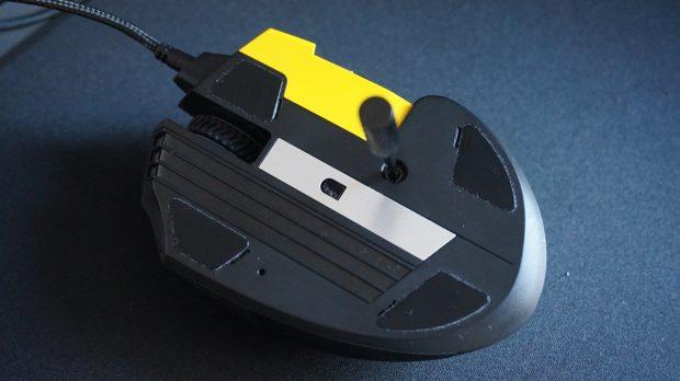 Corsair Scimitar Pro RGB underside