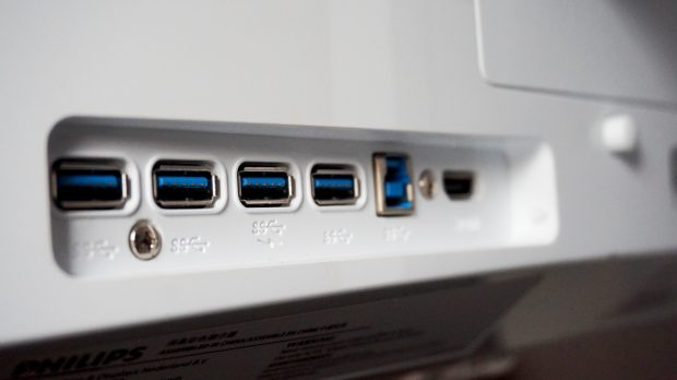 Philips 349X7FJEW USB ports
