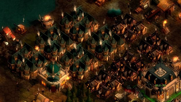 RTS - They Are Billions - steampunk/zombie RTS from Lords of