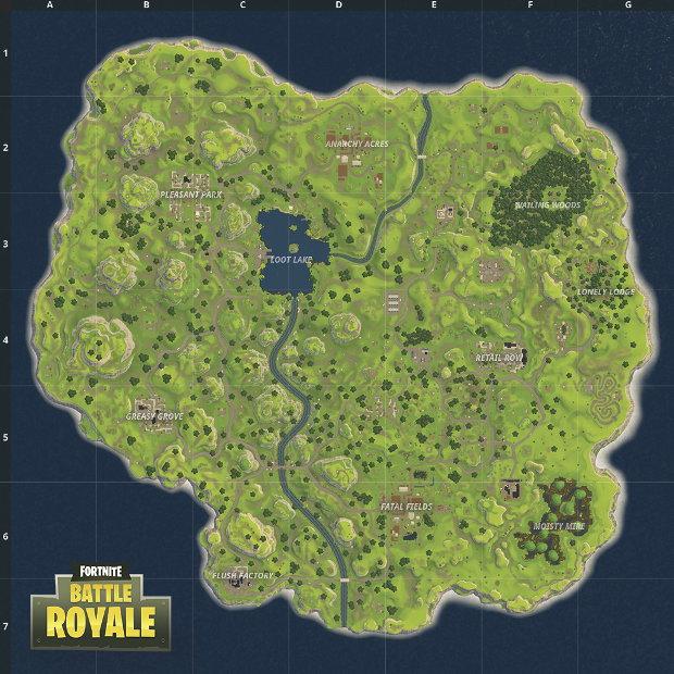 Fortnite Battle Royale Overhauls Map Adds New City Rock Paper Shotgun