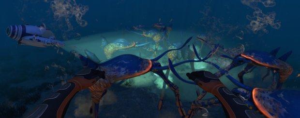 Subnautica's extraordinary Sea Treaders | Rock Paper Shotgun