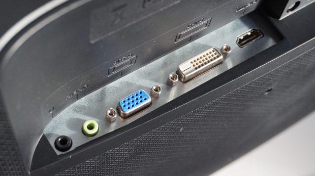 BenQ GL2580HM ports