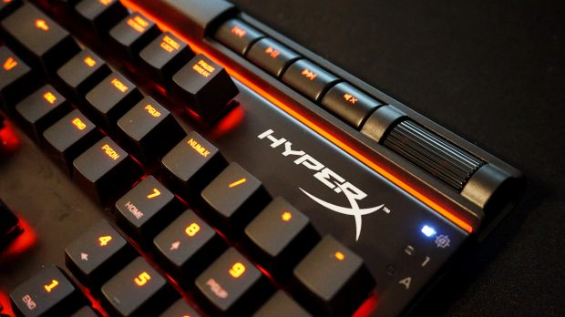 HyperX Alloy Elite media keys