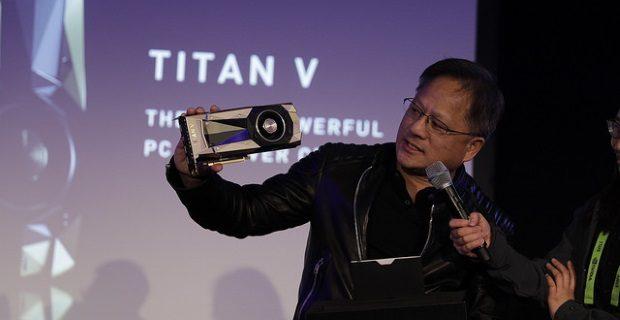 Nvidia Titan V reveal