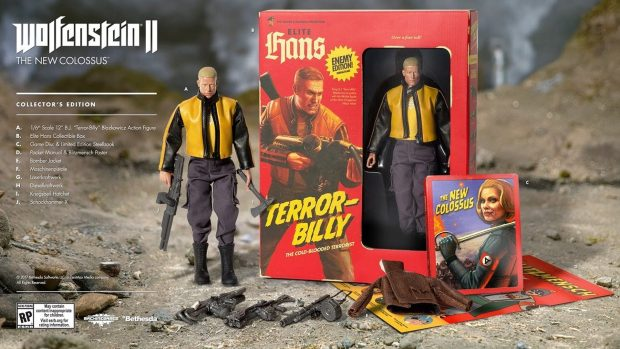 Wolfenstein 2 New Colossus Collector's Edition