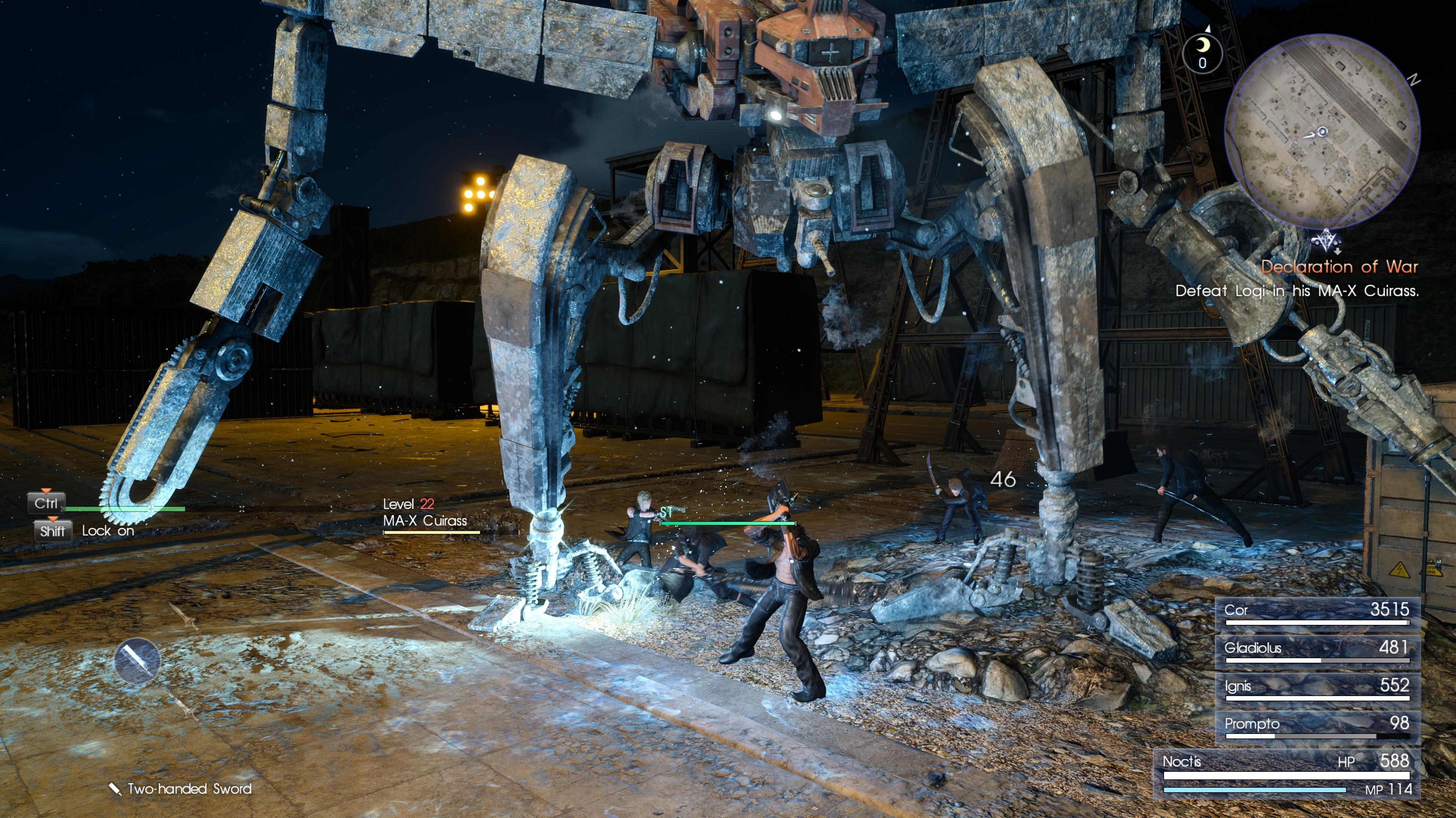 Final Fantasy 15 Windows Edition review   Rock Paper Shotgun