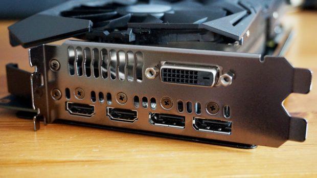 AMD RX Vega 56 ports