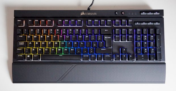 Corsair K68 RGB palm rest