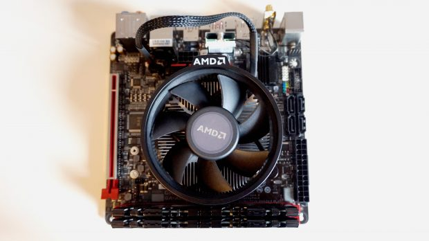 AMD Ryzen 3 2200G complete motherboard