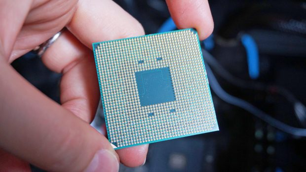 AMD Ryzen 5 2400G size