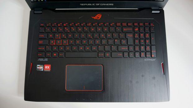 Asus GL702ZC keyboard