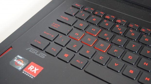 Asus GL702ZC keys