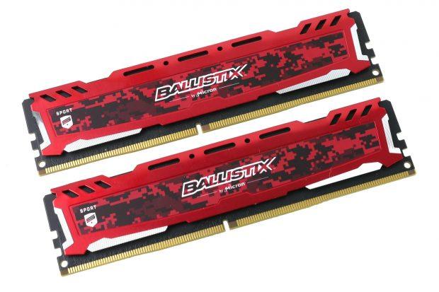 Crucial Ballistix RAM