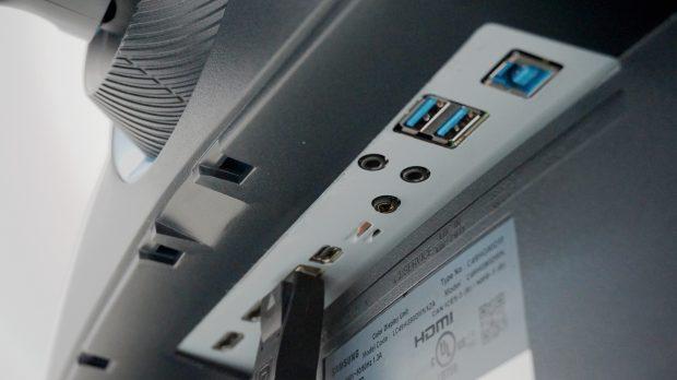 Samsung CHG90 ports