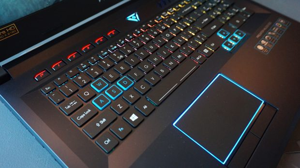 Acer Helios 500 keyboard