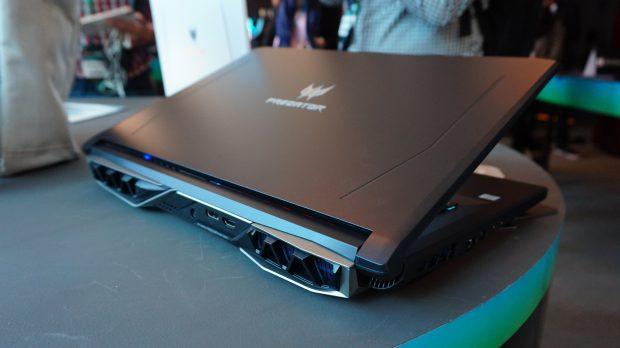 Acer Helios 500 rear