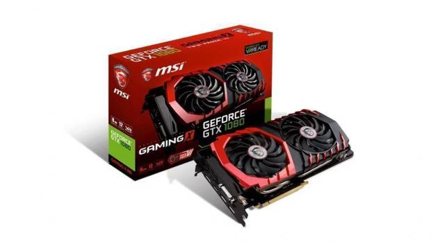 MSI GeForce 1080