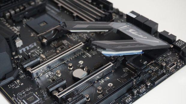 MSI X470 Gaming M7 AC M2 slots