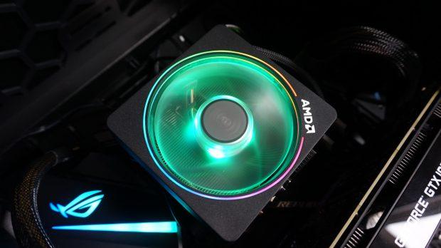 Ryzen 7 2700X Wraith Prism cooler