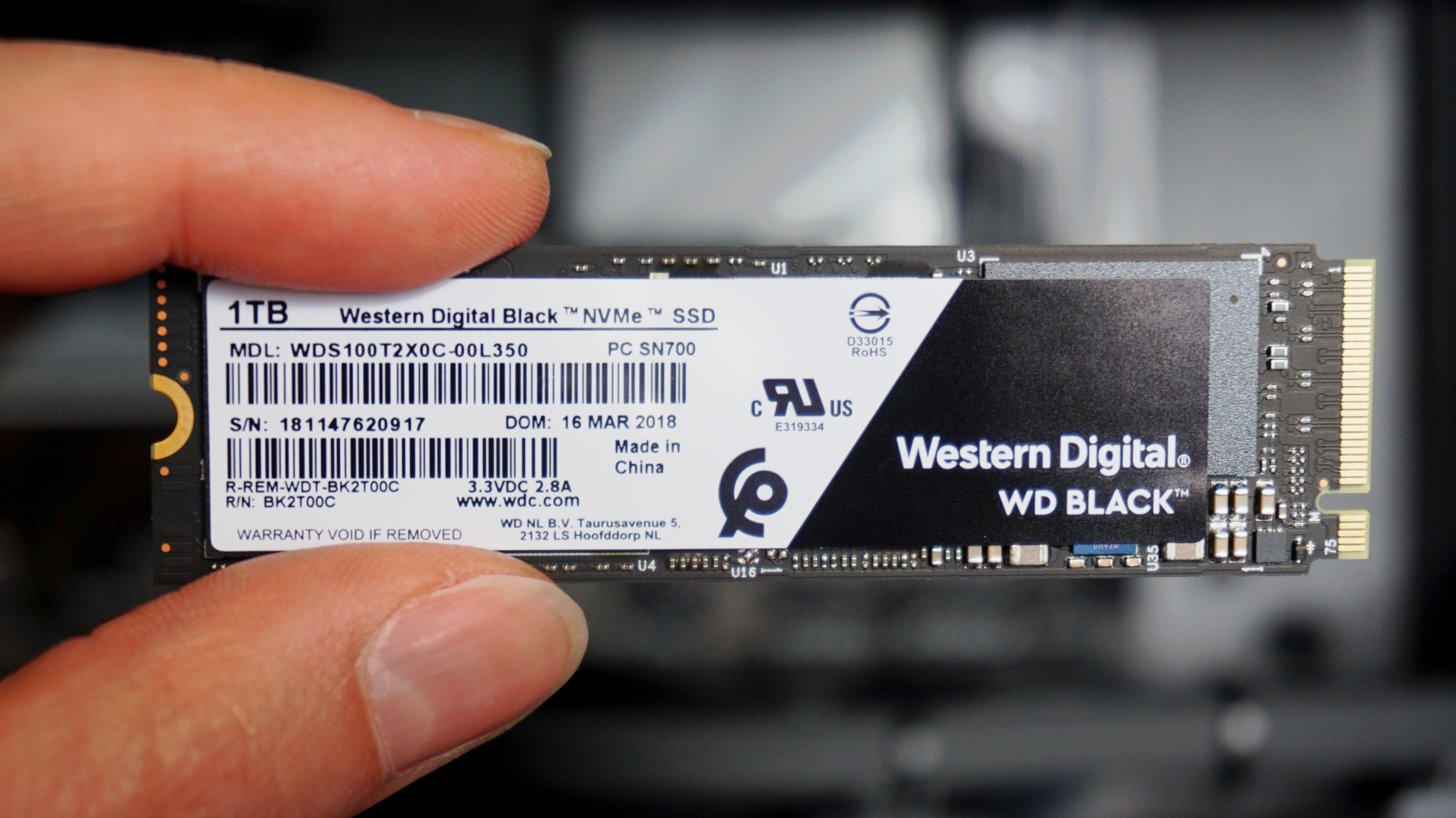 WD Black NVMe SSD (2018) review | Rock Paper Shotgun