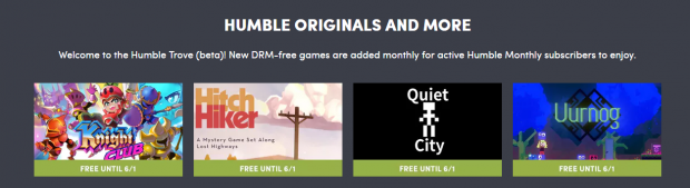 humble free til june