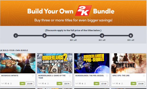 Build your own 2K bundle