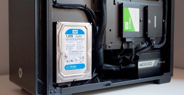 How to install SSD HDD