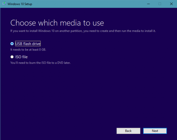How to install Windows 10 step 2