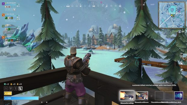 A view of the lake of Icehaven in Realm Royale
