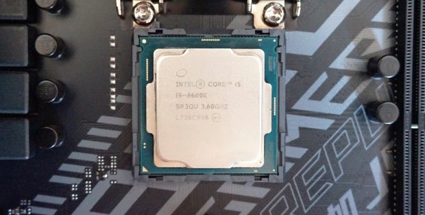 Intel Coffee Lake Core i5-8600K