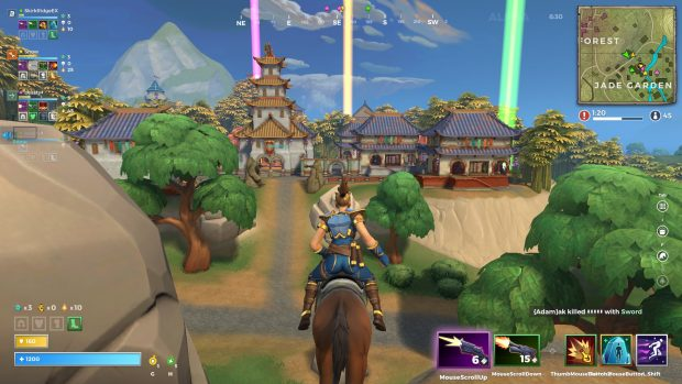 A view of the Jade Garden in Realm Royale