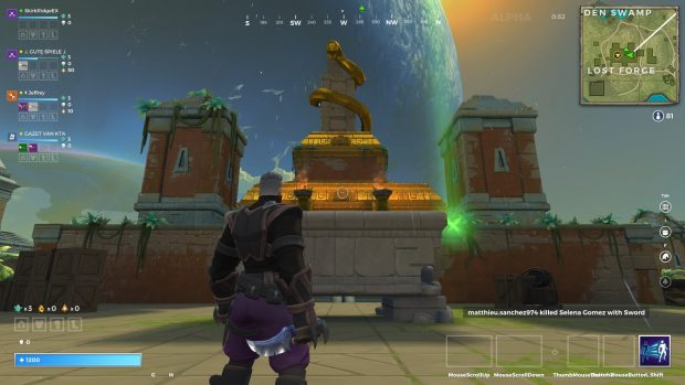 A view of the Lost Forge in Realm Royale