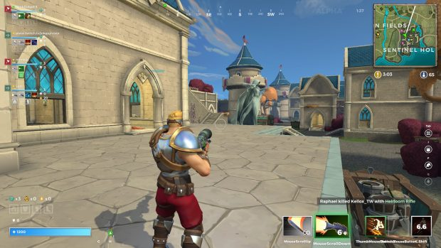 A view of Sentinel Hold in Realm Royale