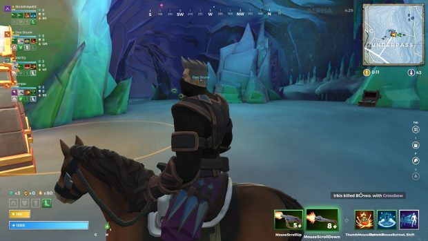 A view of the Underpass in Realm Royale