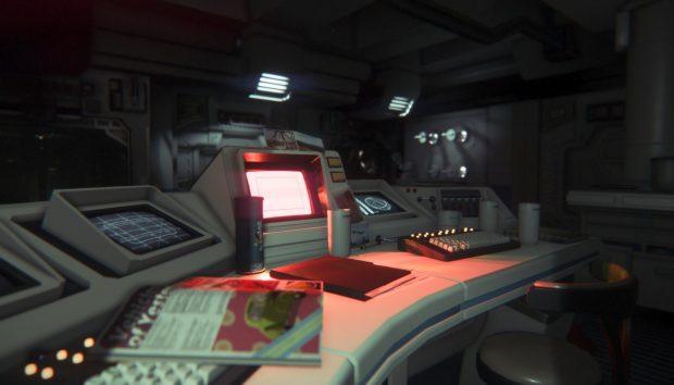 alien isolation desk