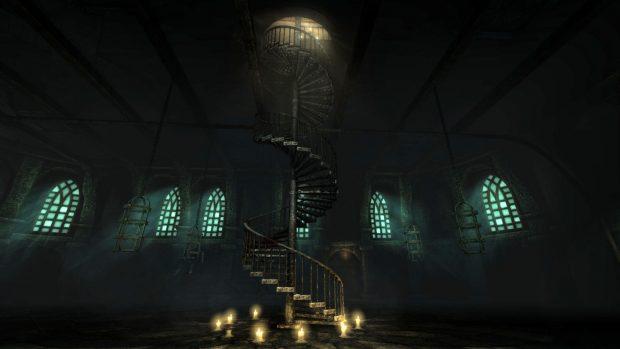 amnesia the dark descent staircase